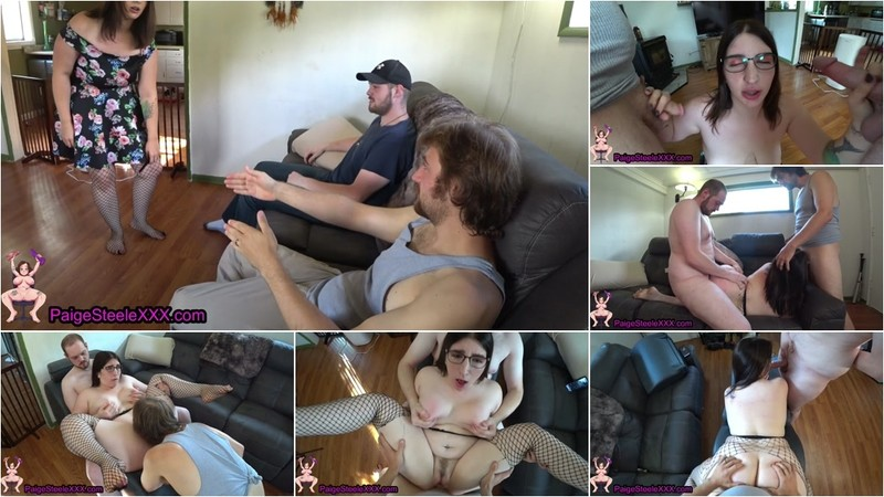Paige Steele - My Stepbrother Agreed to a Threesome [FullHD 1080P]