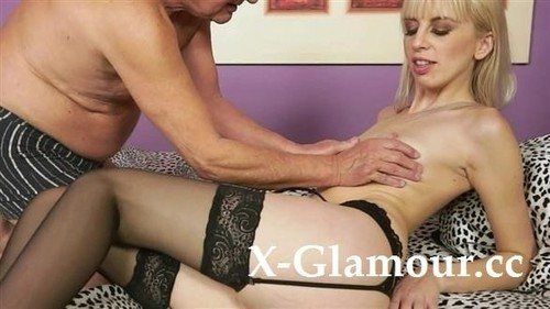 Hot Blonde Craves Old Cock [SD]