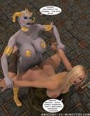 Amazons-Vs-Monsters – Demon Hammer