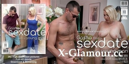 Gasha - Mature Gasha Has A Sexdate With A Younger Man [FullHD/1080p]