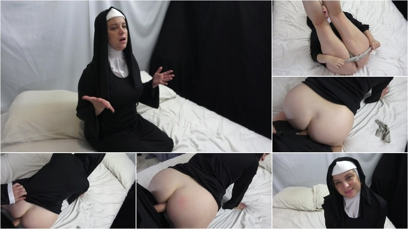Erin Electra - Horny Nun Takes it up the Ass [FullHD 1080P]