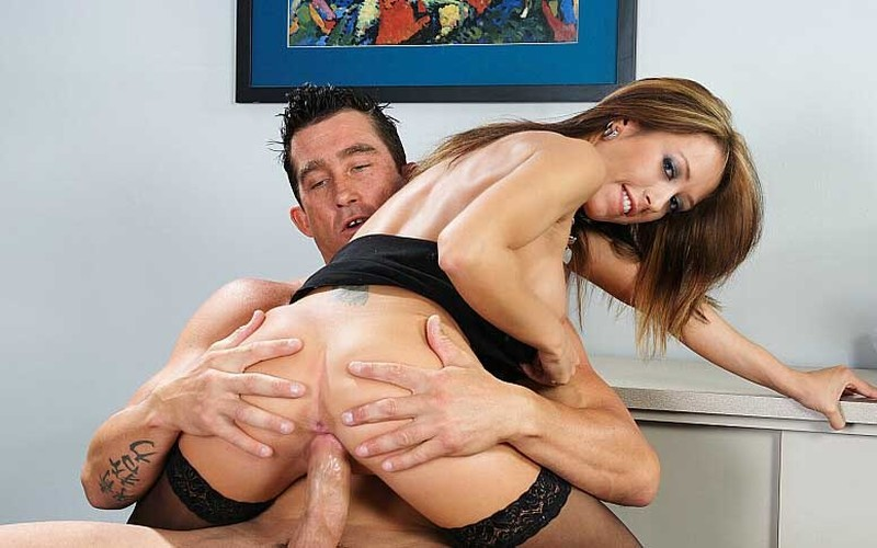 Capri Cavanni - Capri Cavalli Gets Fucked By A Huge Cock [FullHD 1080P]