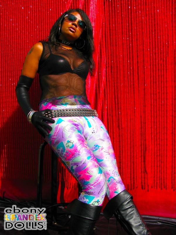 african babe Phoenix leggings fetish gallery