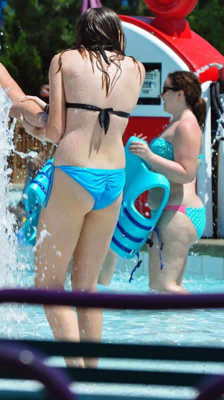 naughty lesbian girls in wet swimwear