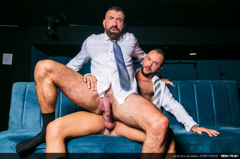 MenAtPlay - Strip Poker: Joe Casio, Sir Peter Bareback (Dec 18)