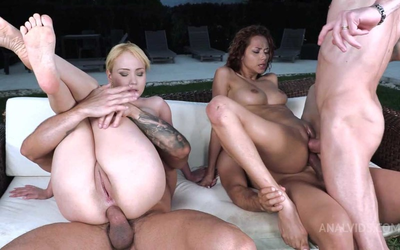 Outdoor orgy with top colombian girls Natasha Teen and Veronica Leal NT068 - Watch XXX Online [HD 720P]