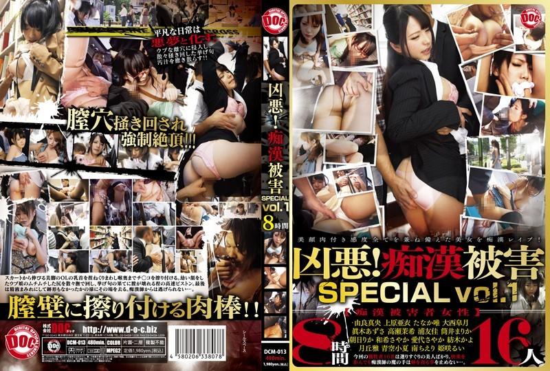 DCM-013 凶悪!痴漢被害 SPECIAL vol.1