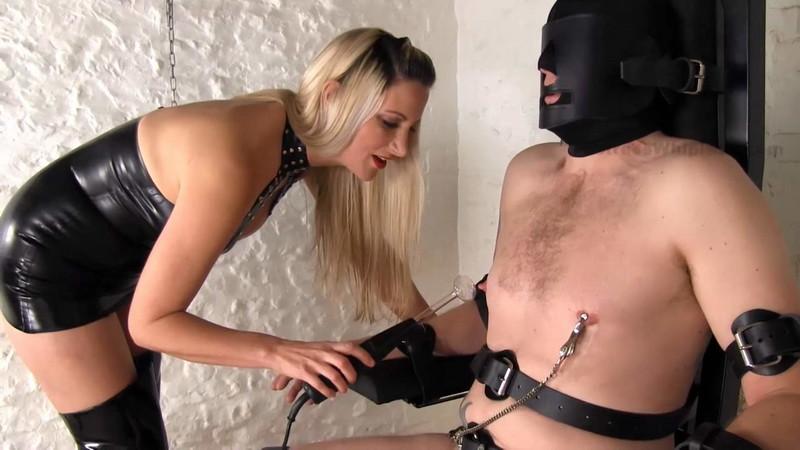 Mistresswhiplash - Wl1490 : Bound Slave'S Violet Wand Cbt &Amp; Nipple Torment [FullHD 1080P]