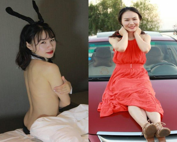『小景甜』上海留学生美女李真.豪乳童颜女神