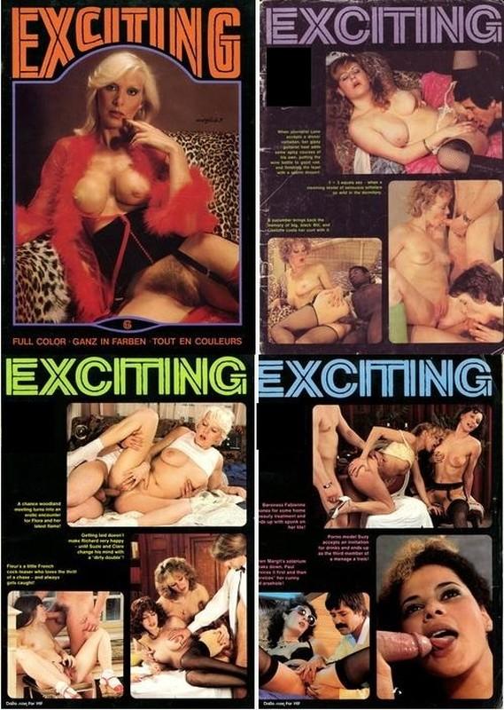 28 Magazines - Exciting (1970-1990) JPG / PDF