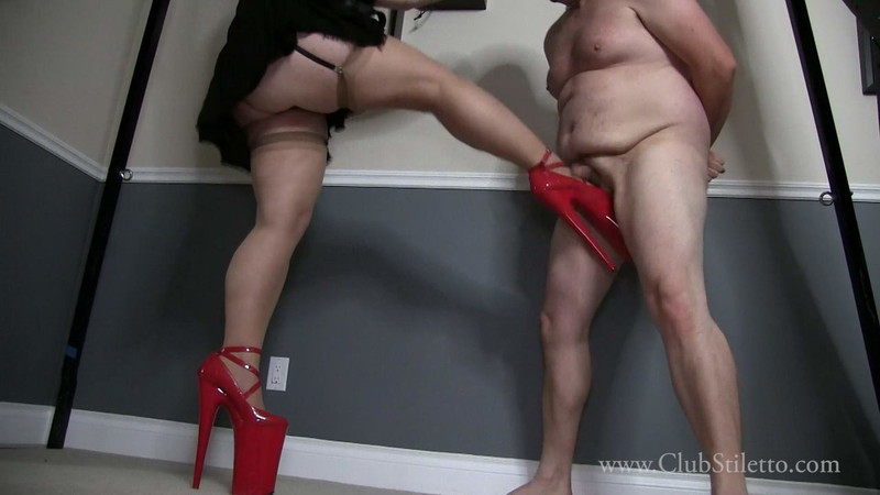 Club Stiletto Femdom - No Need To Let A Ruptured Ball Ruin Our Fun [FullHD 1080P]