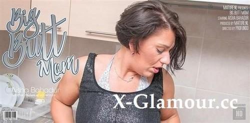 Aisha Bahadur - Big Butt Mom Aisha Is Getting Naughty In Her Kitchen (FullHD)