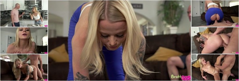 Paris White - Giving My Step Sister The Finger (HD)