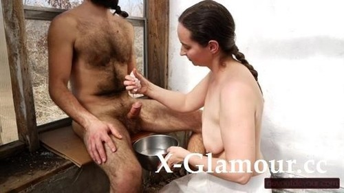 Devoutdevour - Loving Service Fan Request Dick Washing In Greenhouse With Oily Hand And Foot Job [HD/720p]