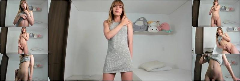 Trans Girl - Cam Show Various TGirls 07 April (HD)
