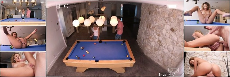 Allie Addison - Billiards With Stepbro (FullHD)