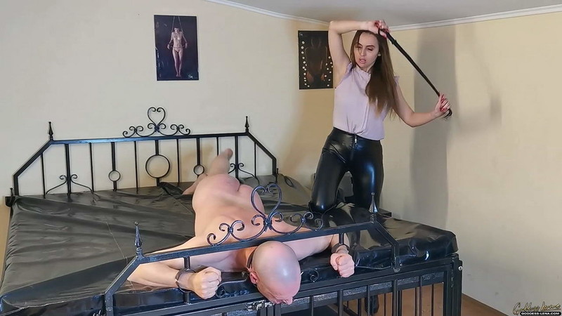 Whipping Until He Can No Longer Sit Down [HD 810P]