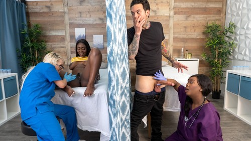 Tori Montana, Barbie Crystal & Ava Sinclaire – Fucking The Fertility Clinic Nurses: Part 1