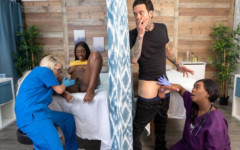 Barbie Crystal, Tori Montana, Ava Sinclaire - Fucking The Fertility Clinic Nurses: Part 1 [FullHD 1080P]