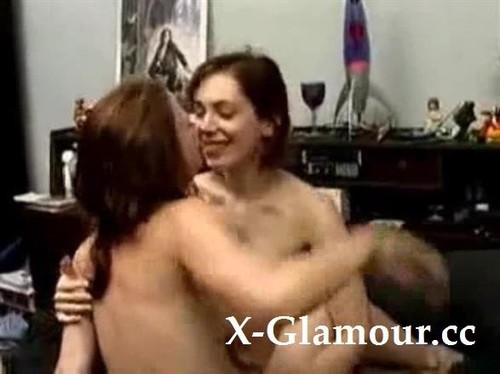Teen Lesbians With Hairy Pussies [SD]