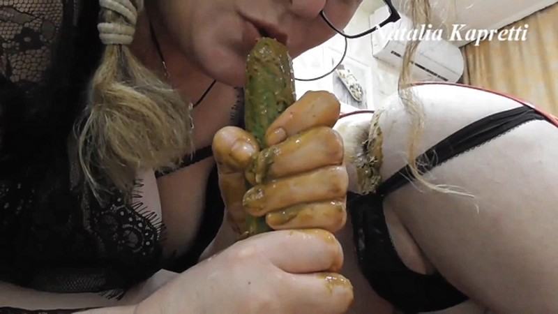 Perverted games with cucumbers in asses [FullHD 1080P]
