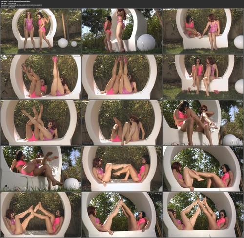 Alyssa Amp Danni In Swimsuits