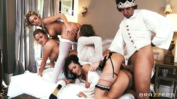 Juelz Ventura, Nicole Aniston, Krissy Lynn, Jenna Presley - In-Tit-Pendence Day, 1080p