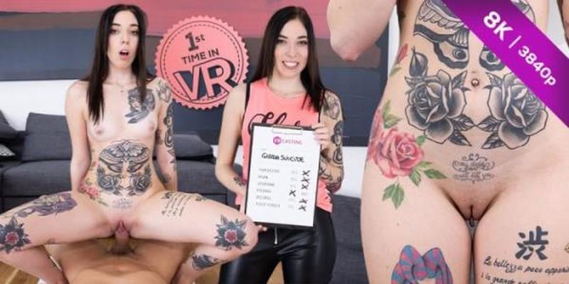 Vr 189 Tattooed Italian Slut Giada Suicide Oculus Casting