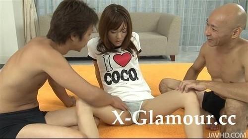 "Nagisa Aiba in ""Nagisa Aiba Takes Anal Sex And A Pussy Creampie"" [HD]"