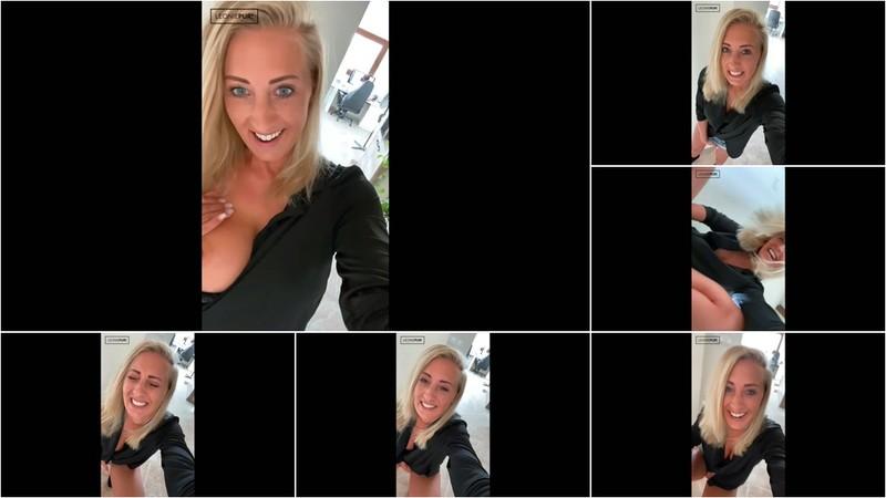 Leonie-pur - Volle Kanne riskant auf Arbeit masturbiert und gekommen (1080P/mp4/83.0 MB/FullHD)
