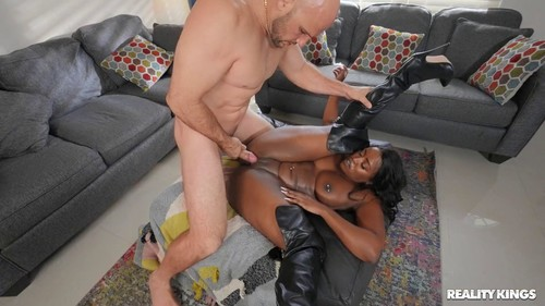 Nyna Stax Breaking In Her Stripper Boots