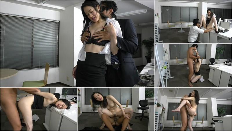 Saeki Eri - My Soaked Female Colleague Made Me Become Horny! [FullHD 1080p]