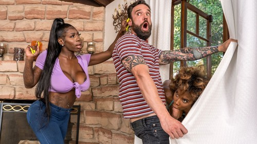 Demi Sutra & Ebony Mystique – Jogging His Memory With Her Pussy