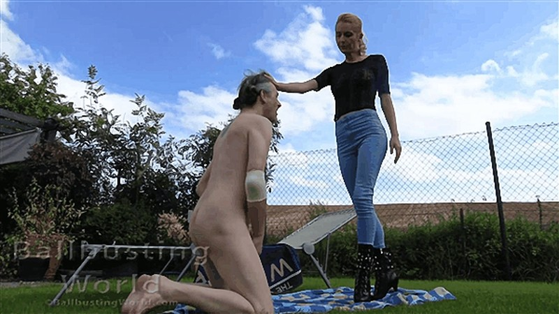 Ballbusted on the Lawn BB1487 [FullHD 1080P]