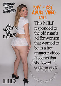 My First Adult Video – April