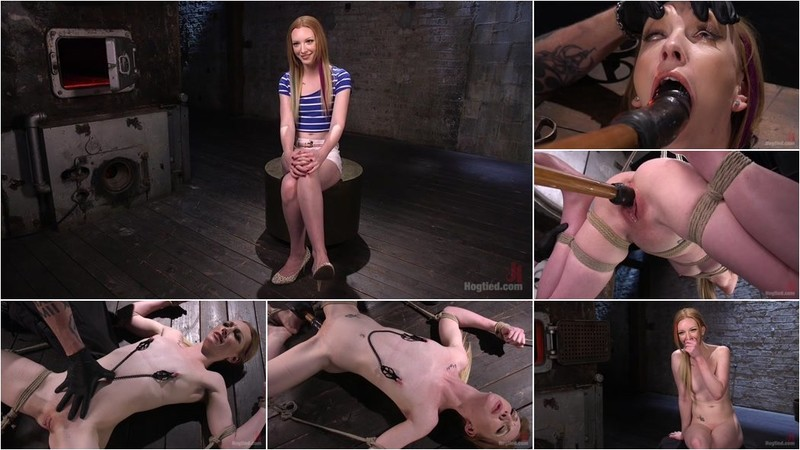 Katy Kiss - Brand New Red Head in Brutal Bondage, Suffering, and Made to Cum [SD 540p]