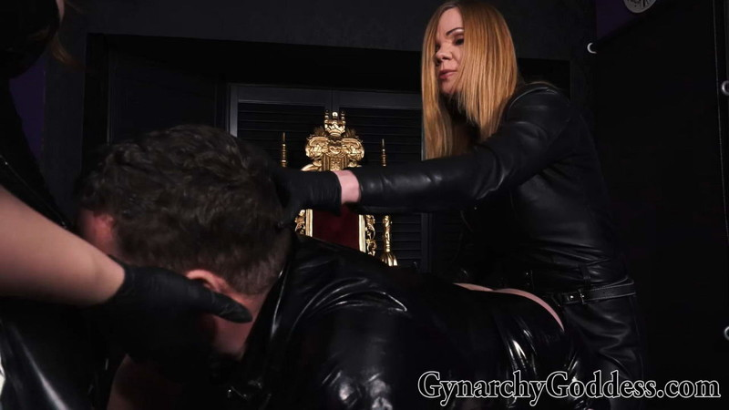 Goddess Gynarchy - Step-Mother And Step-Daughter Spit-Roast Slave [FullHD 1080P]