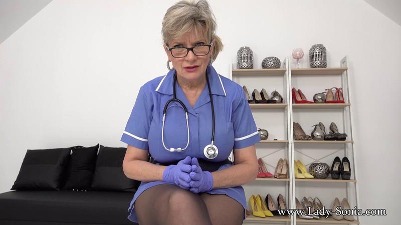 Lady Sonia - Busty Nurse Covered In Cum [FullHD 1080P]