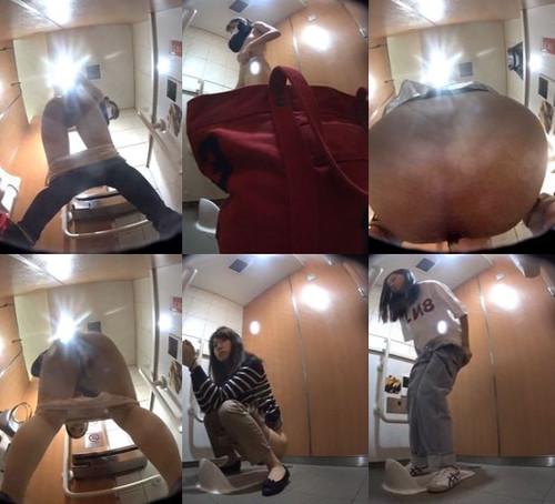 【ovz投稿作品】★大都会駅トイレ未流出192カメラ美人の全裸う〇こ