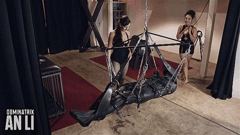 Mistress An Li - Teased in the Air [FullHD 1080P]