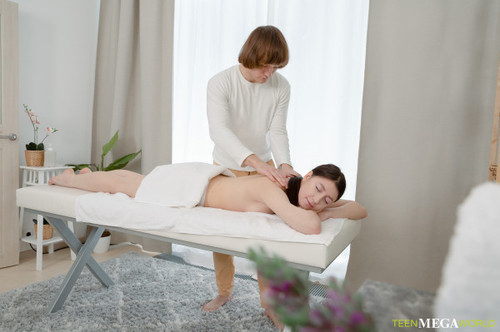 Rin White - Spicy bonus of a full-body massage
