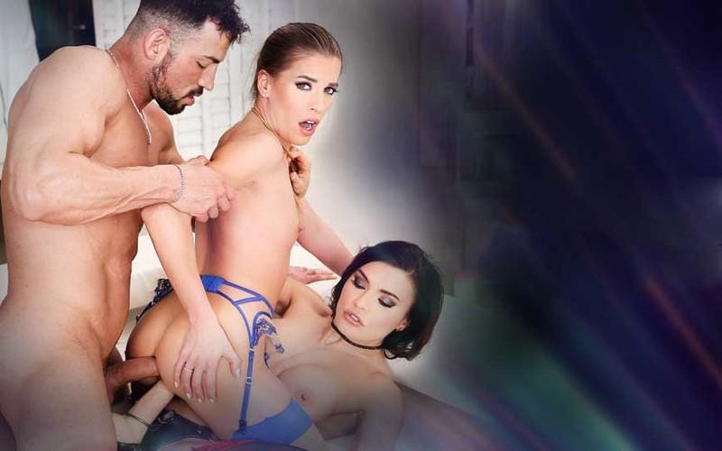 Kitana Lure, Eveline Dellai, Silvia Dellai - The Spanish Stallion: Field of Sluts [FullHD 1080P]