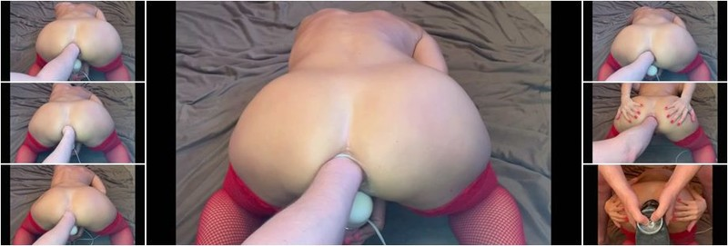 CrazyWifeSlut - CrazyWifeSlut CWS ruined her asshole by fist and dildo (FullHD)