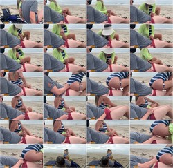 [OnlyFans.com] CasalAventura - Quickie on public beach people walking near - Real Amateur (Download: Cloudfile)