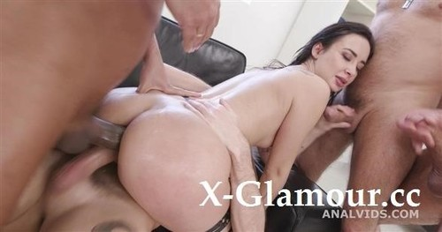Freya Dee - Funnelled With Roses, Freya Dee 4On1 Balls Deep Anal, First Buttrose,Dap, Pee Drink And Creampiee To Swallow Gio1722 (SD)