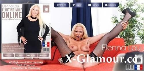 Elenna Lou - Hot Milf Elenna Lou Loves Flashing Her Pussy Online (FullHD)