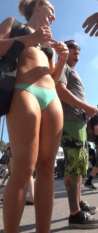 leggy babe sexy bikini creepshot album