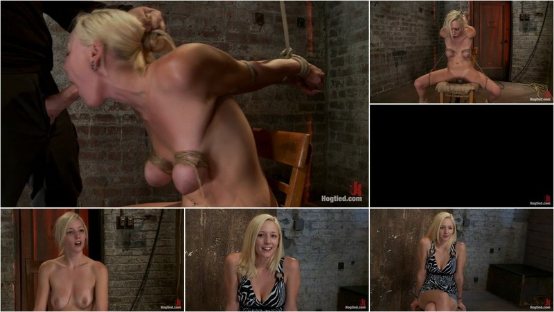 Rylie Richman - Southern girl made to brutally cum over & over. Tight bondage, cruel tit bondage. Orgasms overload! [HD 720p]