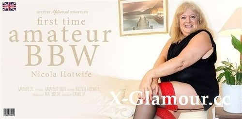 Nicola Hotwife - First Timer Nicola Hotwife Is An Amateur Bbw That Goes All The Way (FullHD)