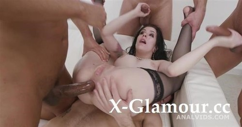 Anna De Ville - St Valentines Goes Well, Anna De Ville Messy Fantasy With Balls Deep Anal, Dap, Gapes, Buttrose And Anal Creampie Gio1750 [HD/720p]